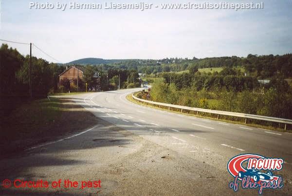 Oud Spa-Francorchamps - De snelle knik van Holowell