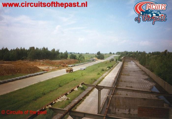 Het verlaten Circuit Nivelles-Baulers in 1998