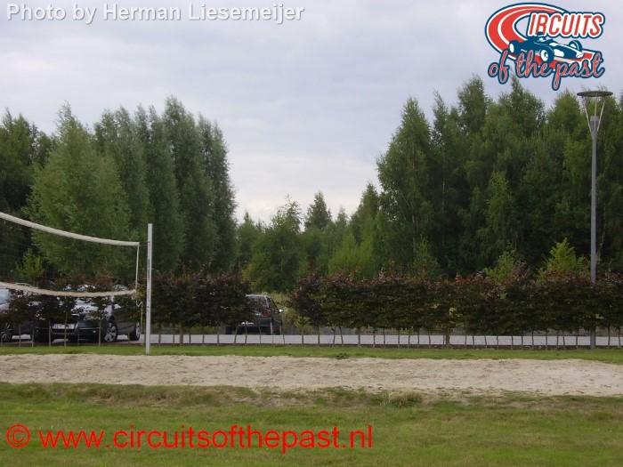 Het circuit van Nijvel - Uitkomen bocht 4 in 2013