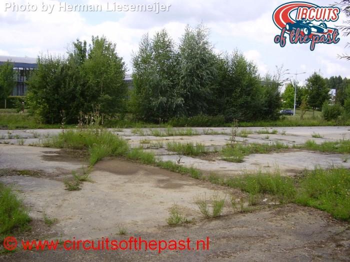 Circuit Nivelles-Baulers - De plek van de wedstrijdtoren in 2013