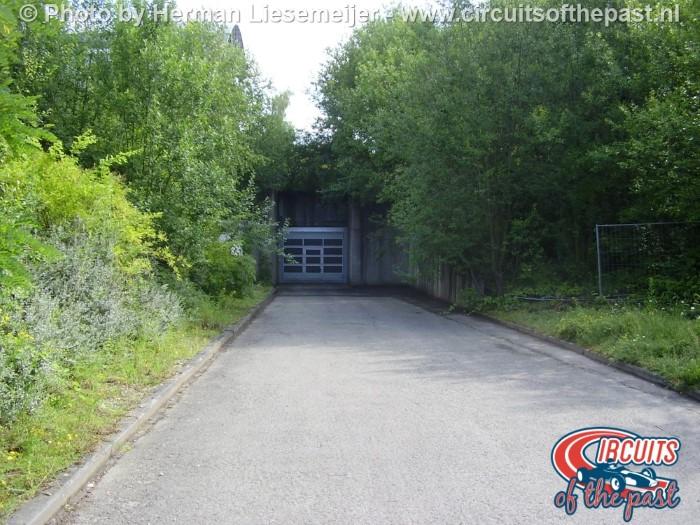 Verdwenen tunnel Circuit Nivelles-Baulers 2014
