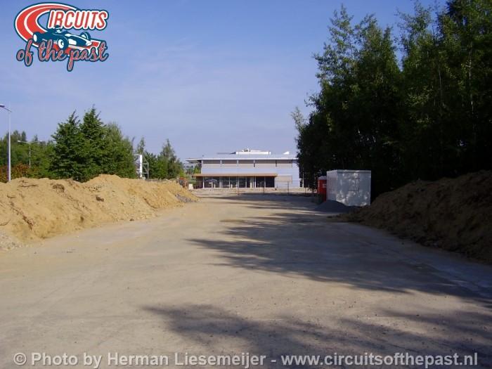 De plek waar de pits was van Circuit Nivelles-Baulers in 2015