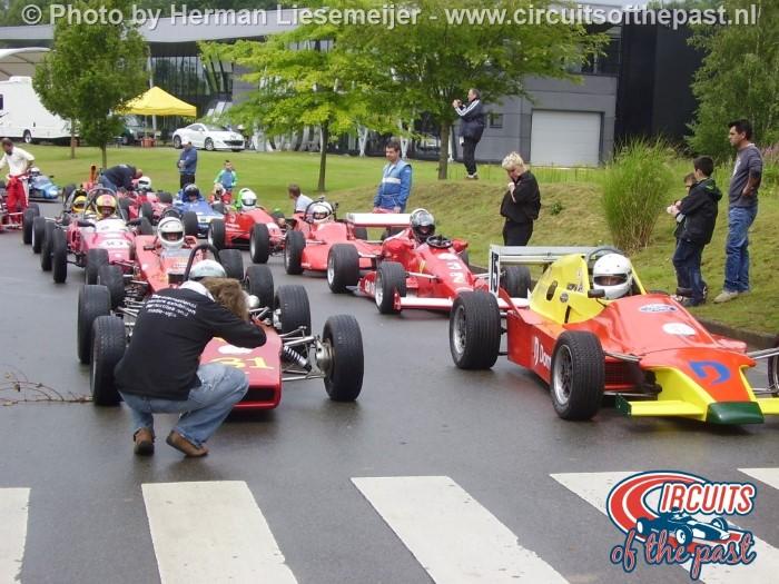 Grand Prix Revival Nivelles-Baulers Pre Grid
