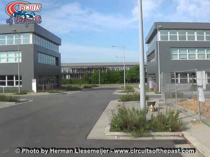 Circuit Nivelles-Baulers 2017 - De plek van de wedstrijdtoren