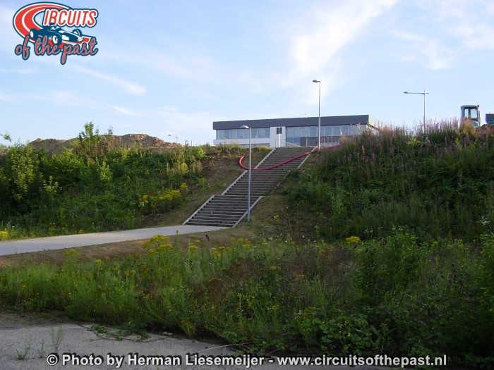 Circuit Nivelles-Baulers 2017 - Werkzaamheden aan de backstright
