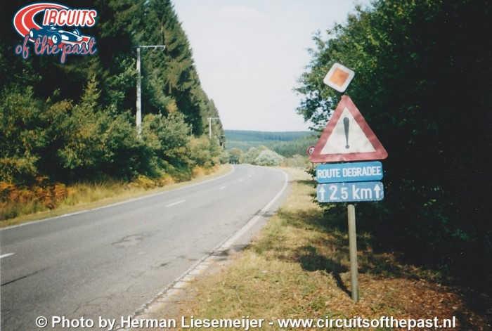 Oud Circuit Spa-Francorchamps - Het verwaarloosde deel in de jaren 90