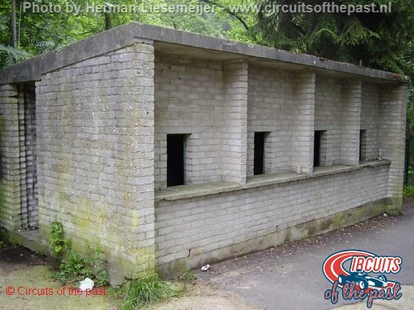 Circuit Spa-Francorchamps 2005 - Een oud tickethuisje
