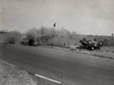 Ongeluk Dr Gerlach in 1957