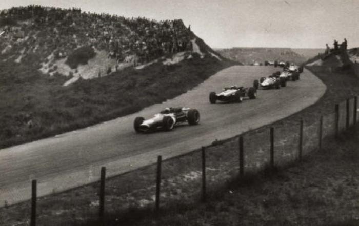 Scheivlak Circuit Zandvoort jaren 60