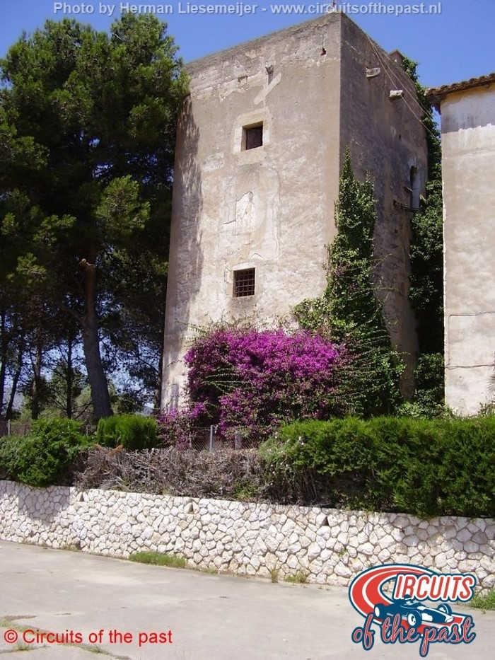Circuit Autòdrom Sitges-Terramar - De oude wedstrijdtoren