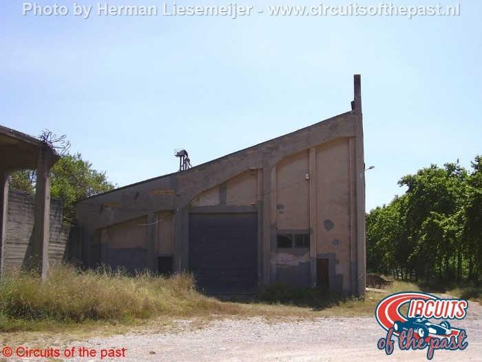 Sitges-Terramar circuit 2008 - De oude hoofdtribune