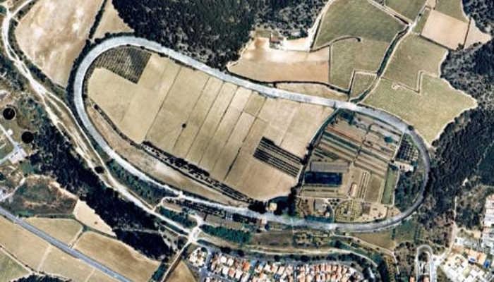 Sitges-Terramar - Luchtfoto van Google Earth
