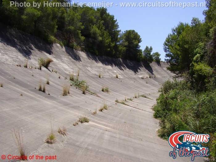 Sitges-Terramar - Het verlaten racecircuit in 2008