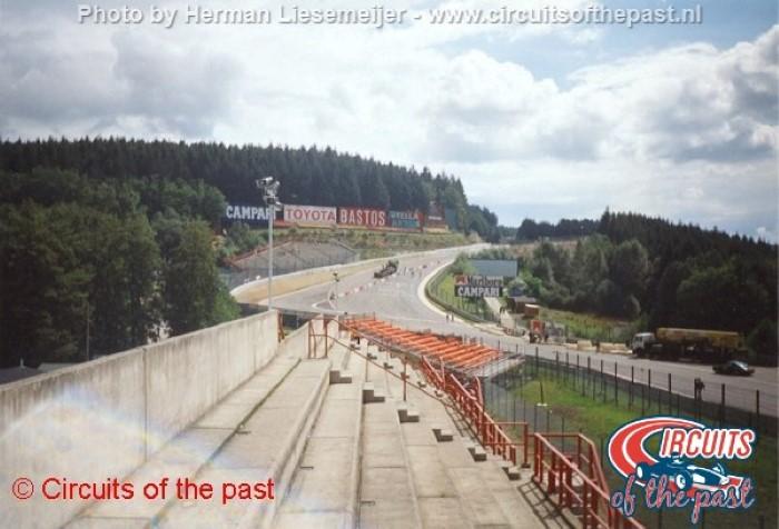 Spa-Francorchamps 1994 - De chicane in the Raidillon aan de Eau Rouge