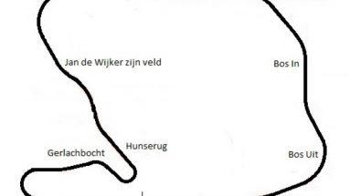 Layout Circuit Zandvoort 1948-1972