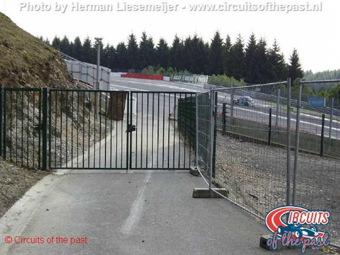Oud Spa-Francorchamps - Oude bocht naar Kemmel