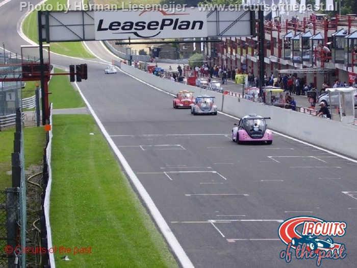 Het oude Start/Finish tijdens de VW Fun Cup in 2005