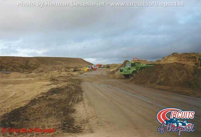 Circuit Zandvoort 1998 - De aanleg van het nieuwe gedeelte