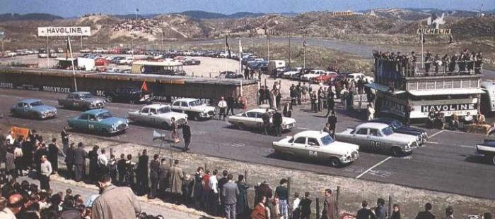Circuit Zandvoort 1958 - Tulpenrally