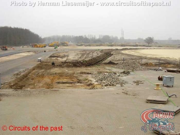 TT circuit Assen 2006 - De aanleg van een nieuw gedeelte ter vervanging van de oude Noordlus