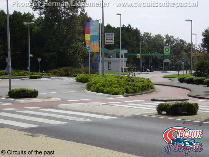 Het stratencircuit van Zandvoort – Minirotonde