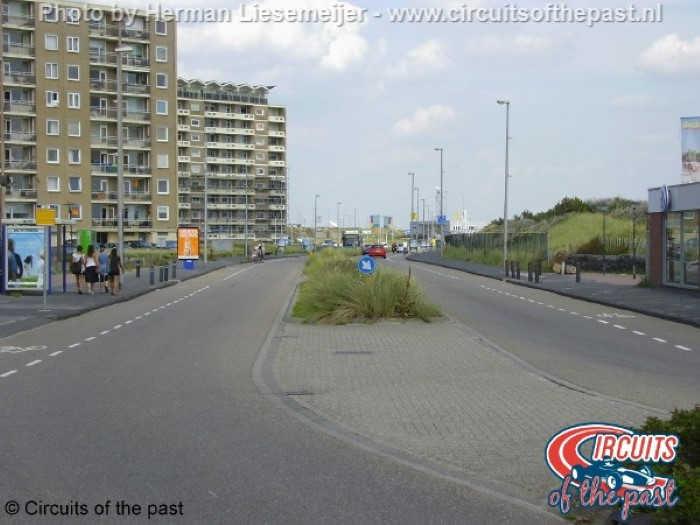Het stratencircuit van Zandvoort – Burgemeester van Alphenstraat
