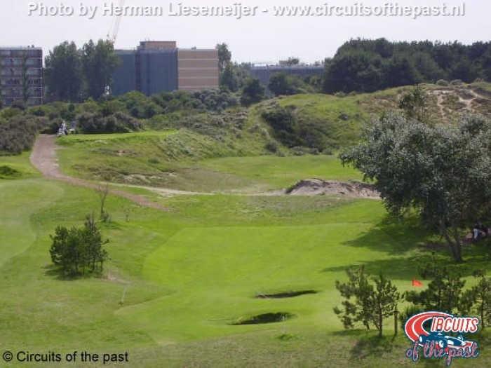 Oude Circuit Zandvoort - Dit deel is nu een golfbaan