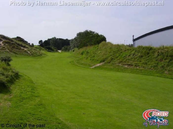 Oude Circuit Zandvoort - Dit was de tweede knik van het Hondenvlak