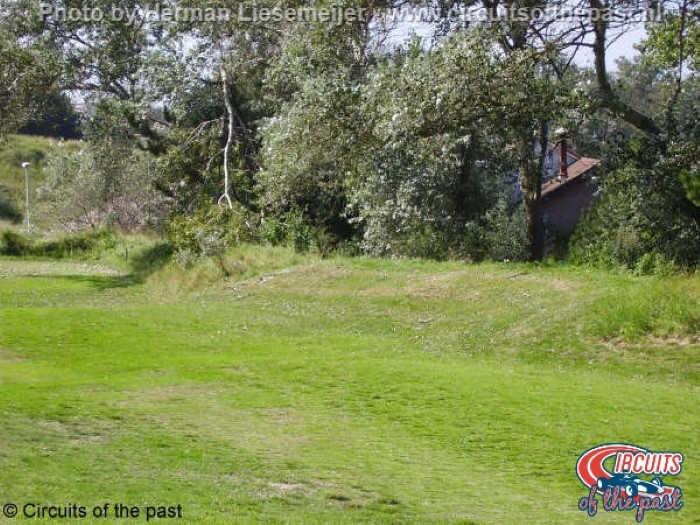 Oud Circuit Zandvoort - De plek waar Roger Williamson in 1973 verongelukte