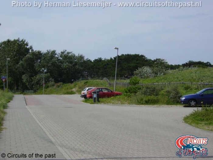 Oude Circuit Zandvoort - Dit deel is nu openbare weg
