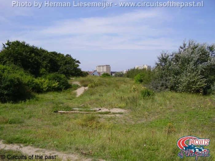 Oude Circuit Zandvoort - Hier was het Bos In en later de Panoramabocht