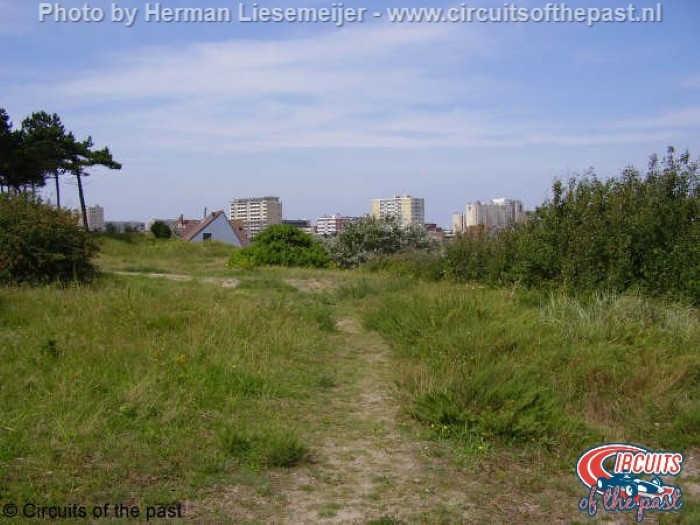 Oude Circuit Zandvoort - Dit deel is nu een bungalowpark