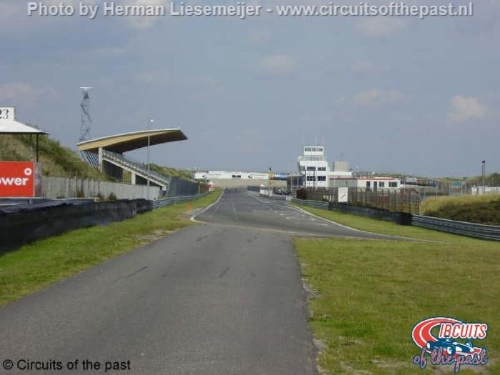 Oude Circuit Zandvoort - Rechte stuk