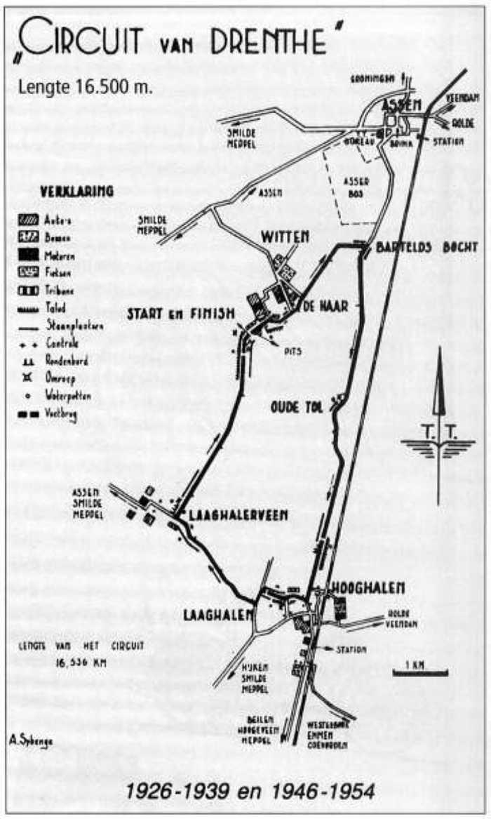 TT Circuit Assen 1926 - 1954