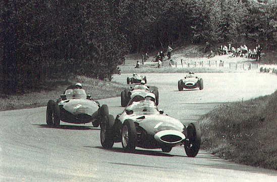 Circuit Zandvoort - Bos In 1958