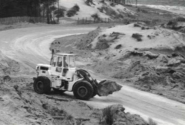 Circuit Zandvoort - Aanleg Panoramabocht 1972