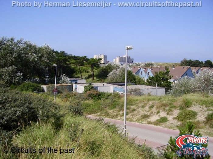 Oud Circuit Zandvoort - Bungalowpark op de plek van de Panoramabocht