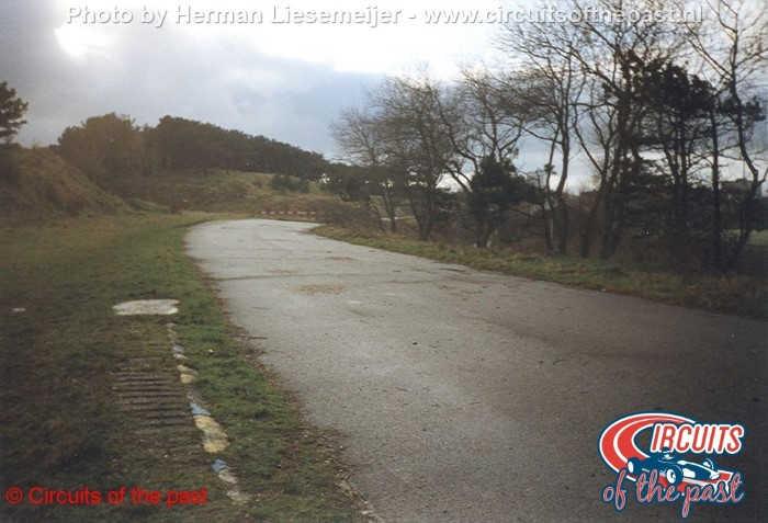 Oud Circuit Zandvoort - De beruchte knik voor Tunnel Oost in 1998