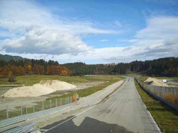 Österreichring (Red Bull Ring) - Van 2004 t/m 2008 lag het circuit er verlaten bij