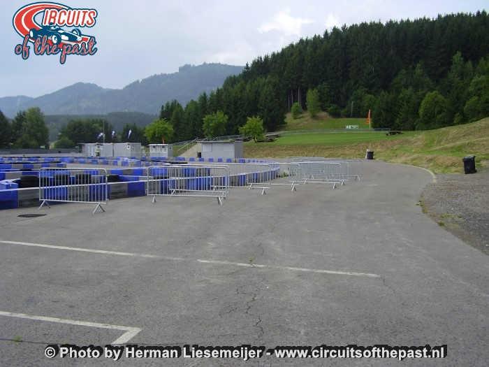 Österreichring (Red Bull Ring) - De oude Hella Licht-bocht