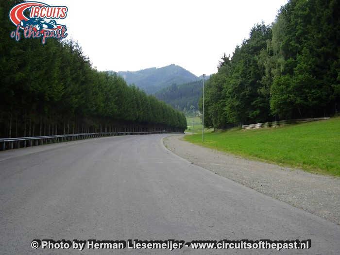 Österreichring (Red Bull Ring) - De verlaten Westschleife