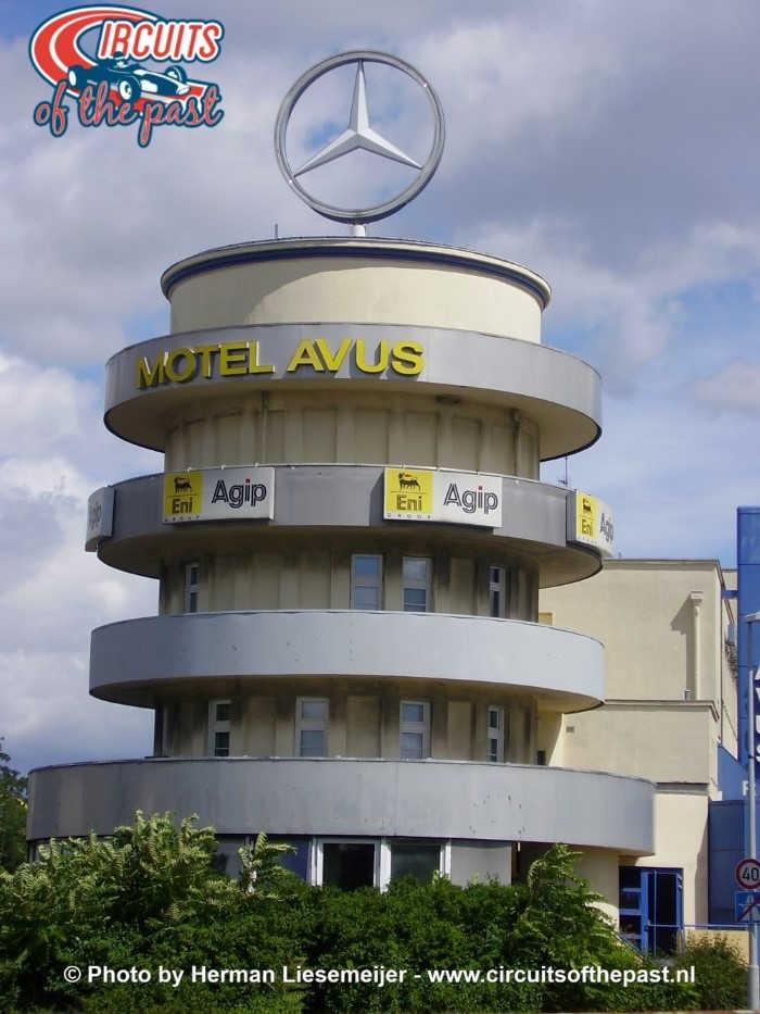 AVUS Berlijn wedstrijdtoren