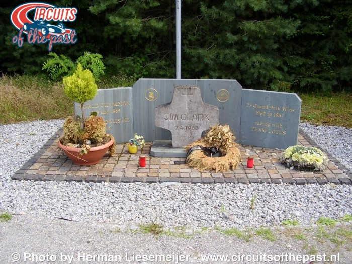 Oud Hockenheim - Monument Jim Clark