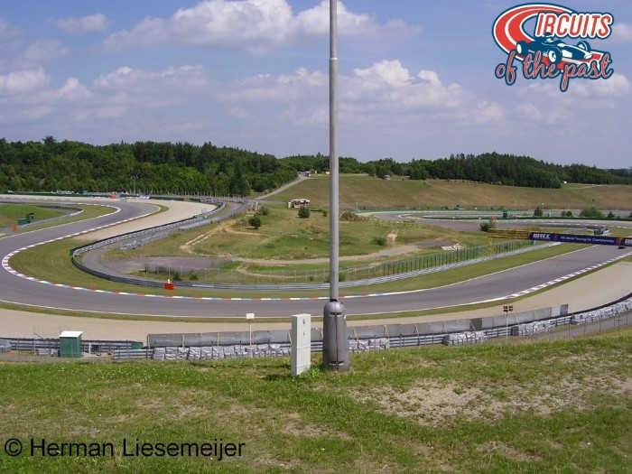 Nieuw circuit Brno - Stadionsectie