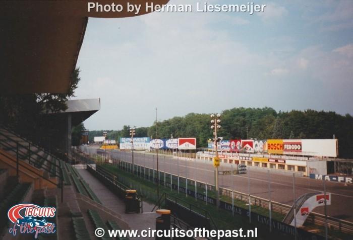 Monza - Blik vanaf de tribune in 1994