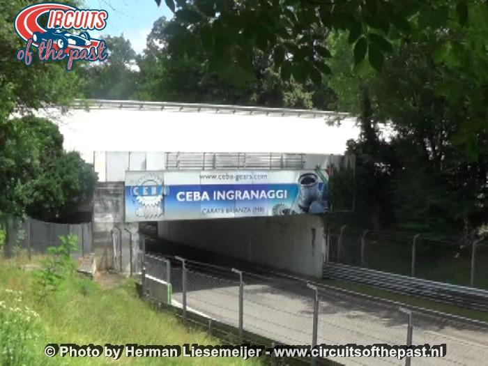Monza - Het Grand Prix circuit kruist de oval