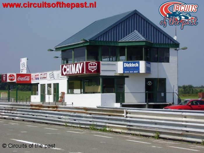 Circuit Chimay - De nieuwe pits sinds 1985