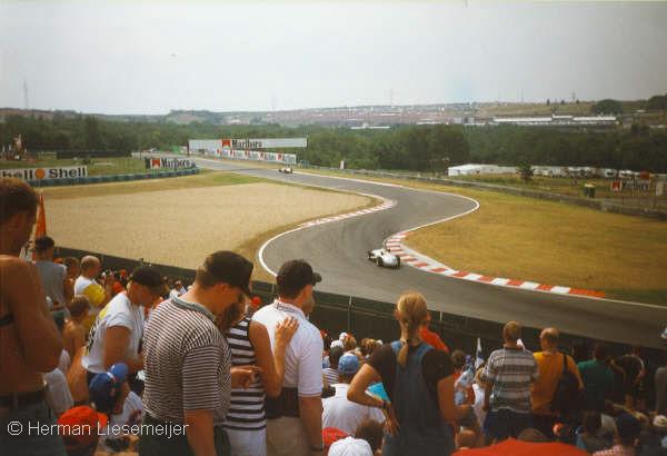 Hungaroring F1 Grand Prix Hongarije 1998 - Demonstratie Mercedes Silberpfeilen