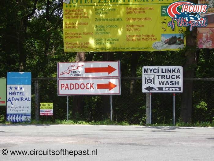 Masaryk Circuit Brno - Signs new Brno Circuit