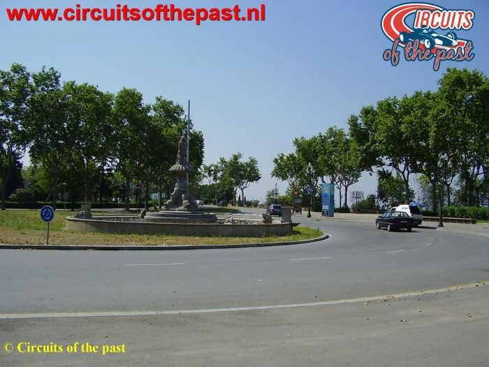 Montjuich Circuit Barcelona - Rotonde